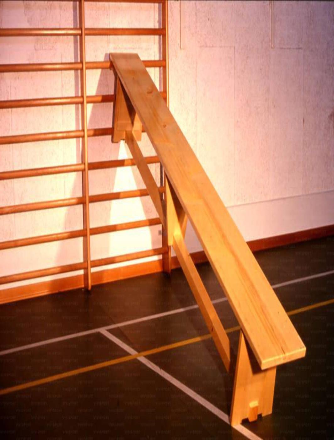 Banca de gimnastica suedeza din lemn