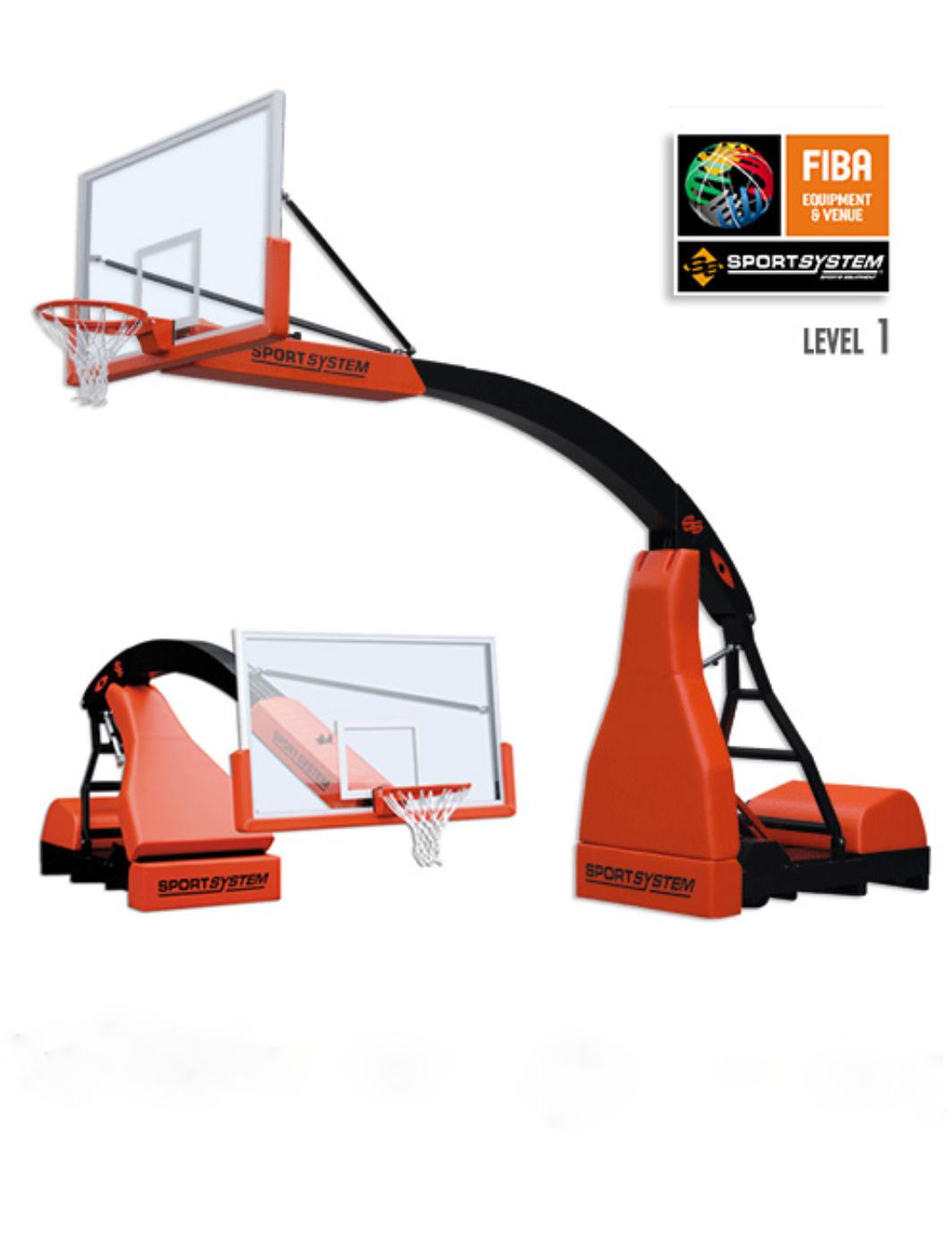 Consola baschet FIBA Level 1