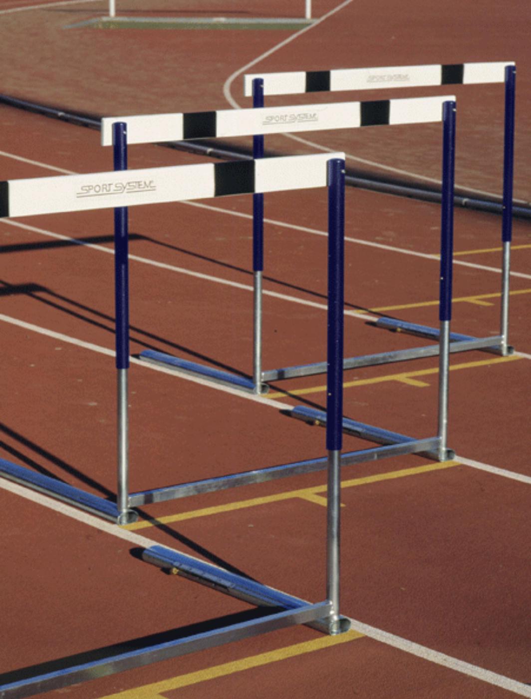 Gard olimpic din otel cu inlatime reglabila